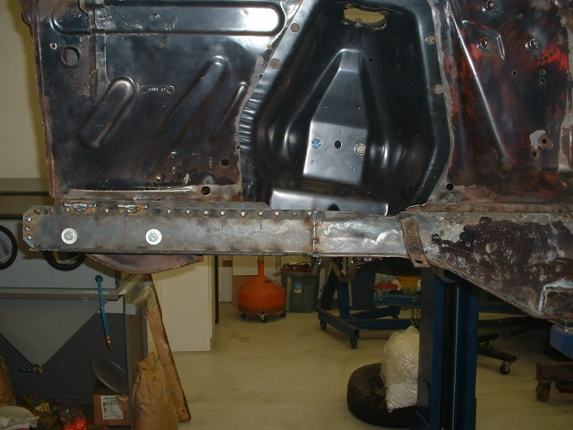 Front Frame Rail Replacement Vintage Mustang Forums